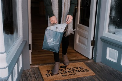 Primitive Beginnings shopping bag