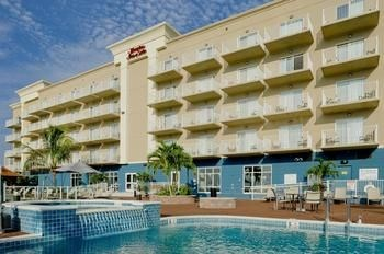 Hampton Inn & Suites-Ocean City exterior view