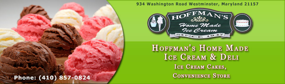 Hoffman's Home Made Ice Cream Logo