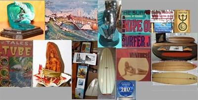 Photo Credit: Bruce Snake Gabrielson's Surf Art Gallery and Museum