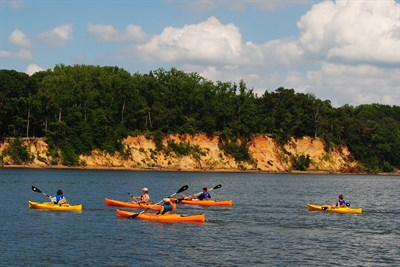 Sultana Kayak Trip