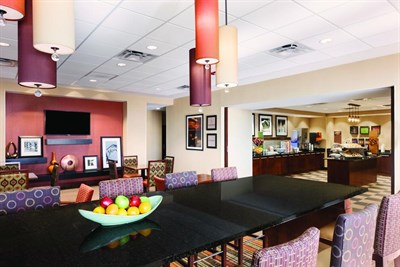 Hampton Inn-Frederick interior lobby view
