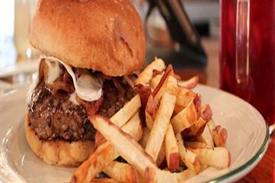 Moon Shadow burger