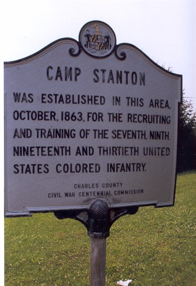 Camp stanton sign