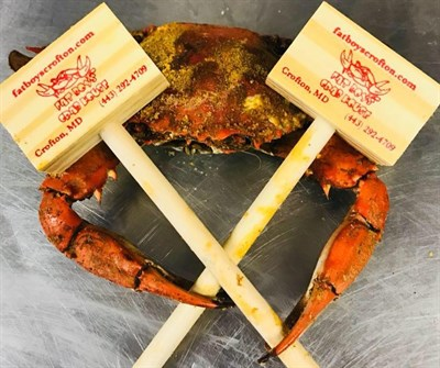Crab with mallets