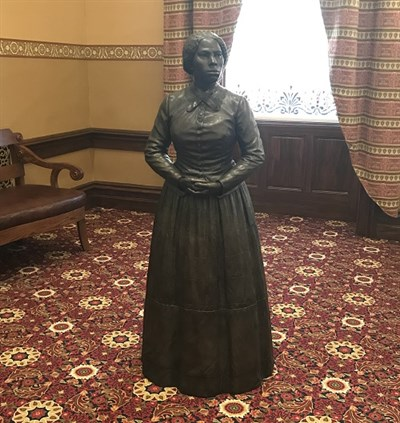 Harriet Tubman Statue at the Maryland State House