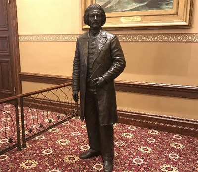 Frederick Douglass statue at the Maryland State House