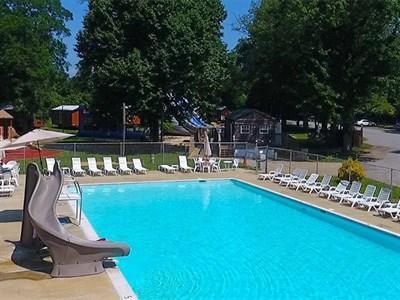 Swimminig pool at Adventure Bound Washington DC