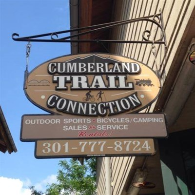 Cumberland Trail Connection entrance sign