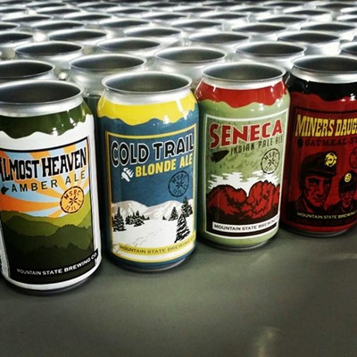 Custom made beers from Mountain State Brewing Company