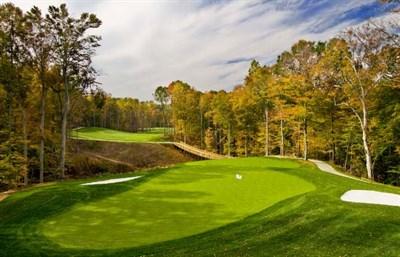A green at Lake Presidential Golf Club