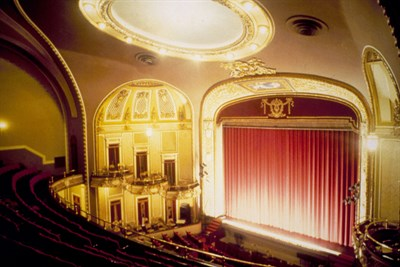 The Maryland Theatre Stage