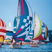 Sail Boats in the Wednesday Night Races